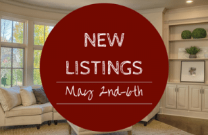 New Listings May 2nd