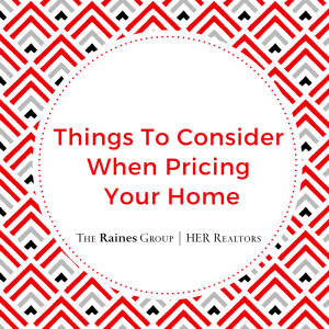 Pricing Your Home